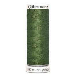 Fil à coudre vert Gütermann 148
