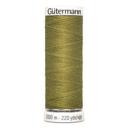 Fil à coudre vert Gütermann 397