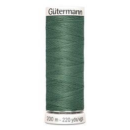 Fil à coudre vert Gütermann 553
