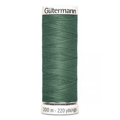 Green sewing thread Gütermann 402