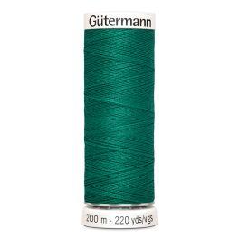 Fil à coudre vert Gütermann 167