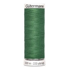 Fil à coudre vert Gütermann 931