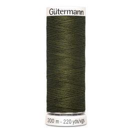 Fil à coudre vert Gütermann 399