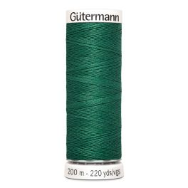 Fil à coudre vert Gütermann 915