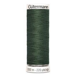Fil à coudre vert Gütermann 164