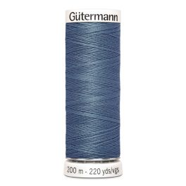 Fil à coudre bleu Gütermann 76