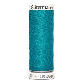 Fil à coudre bleu Gütermann 55