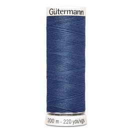 Fil à coudre bleu Gütermann 68