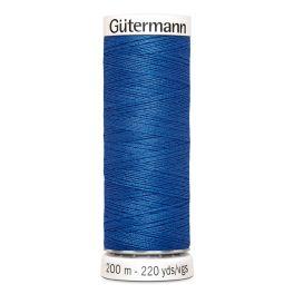 Fil à coudre bleu Gütermann 78