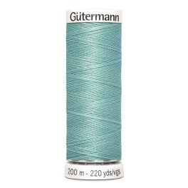 Fil à coudre bleu Gütermann 929