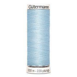 Fil à coudre bleu Gütermann 276