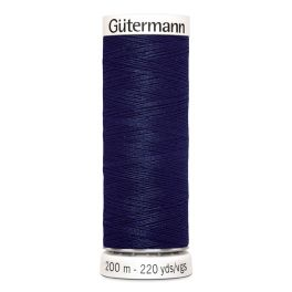 Fil à coudre bleu Gütermann 310