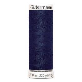 Fil à coudre bleu Gütermann 711