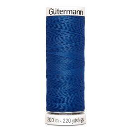 Fil à coudre bleu Gütermann 312