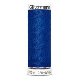 Blauwe naaigaren Gütermann 482