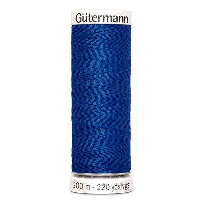 Fil à coudre bleu Gütermann 316