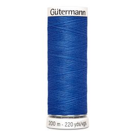 Fil à coudre bleu Gütermann 959
