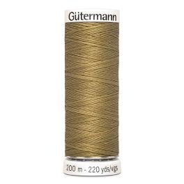 Fil à coudre beige Gütermann 453