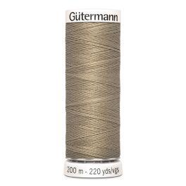 Fil à coudre beige Gütermann 263