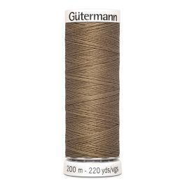 Fil à coudre beige Gütermann 850