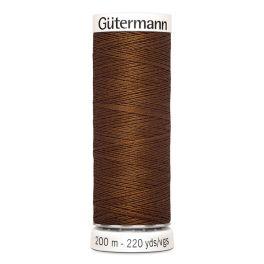 Fil à coudre brun Gütermann 450