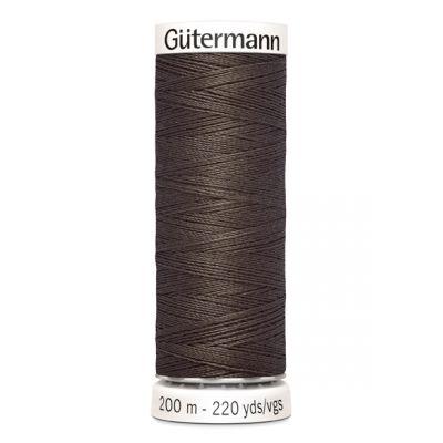 Fil à coudre brun Gütermann 480