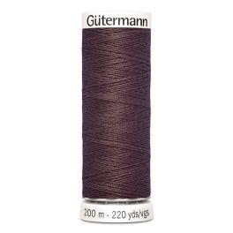 Fil à coudre brun Gütermann 883