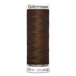 Fil à coudre brun Gütermann 280