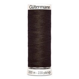 Fil à coudre brun Gütermann 780