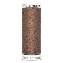 Fil à coudre brun Gütermann 454