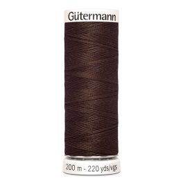 Fil à coudre brun Gütermann 774