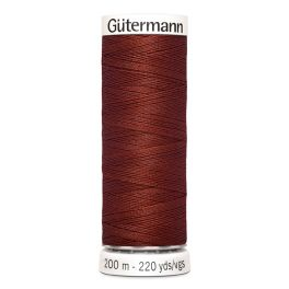 Fil à coudre brun Gütermann 227