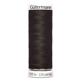 Fil à coudre brun Gütermann 671