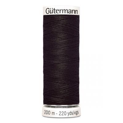 Fil à coudre brun Gütermann 682