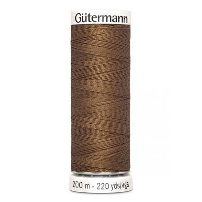 Fil à coudre brun Gütermann 124