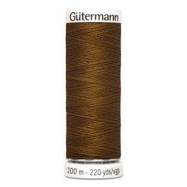 Fil à coudre brun Gütermann 19