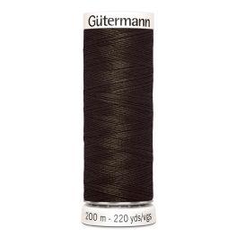 Fil à coudre brun Gütermann 674
