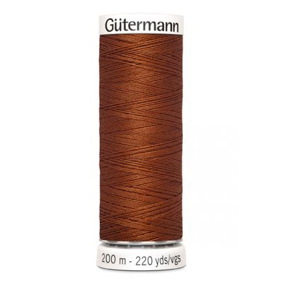 Brown sewing thread Gütermann 160