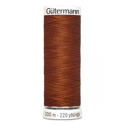 Fil à coudre brun Gütermann 934