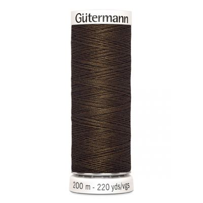 Fil à coudre brun Gütermann 816