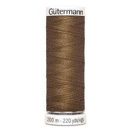 Fil à coudre brun Gütermann 851