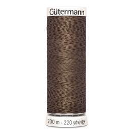 Fil à coudre brun Gütermann 672