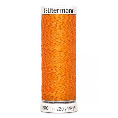 Fil à coudre orange Gütermann 350