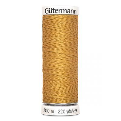 Fil à coudre jaune Gütermann 968