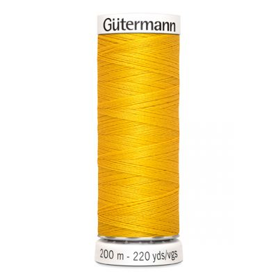 Fil à coudre jaune Gütermann 106