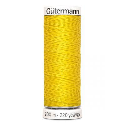Fil à coudre jaune Gütermann 177