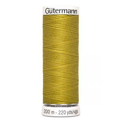 Fil à coudre jaune Gütermann 286