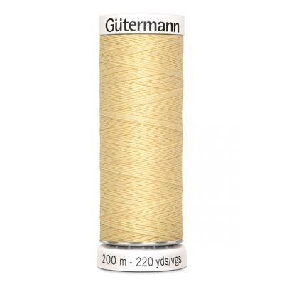 Fil à coudre jaune Gütermann 325