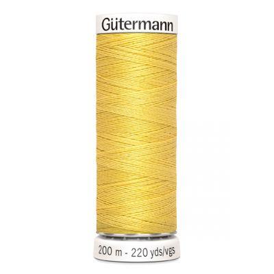 Fil à coudre jaune Gütermann 327