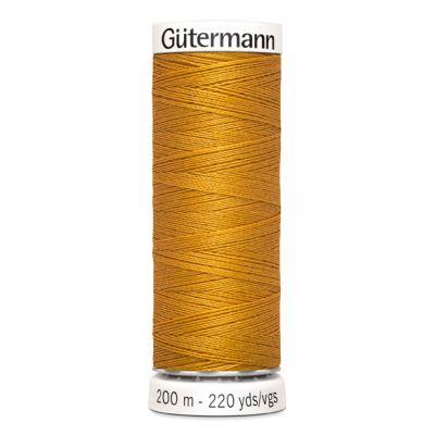Fil à coudre jaune Gütermann 412